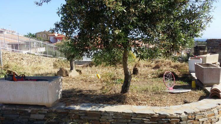 terreno prima della realizzazione del prato sintetico, Stintino, Sassari