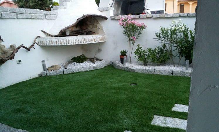prato erba artificialerealizzato da SEMPREVERDE Sassari