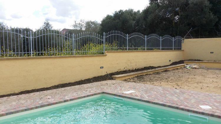dettaglio piscina